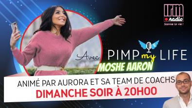 Moshe Aaron à PimpMyLife avec Aurora